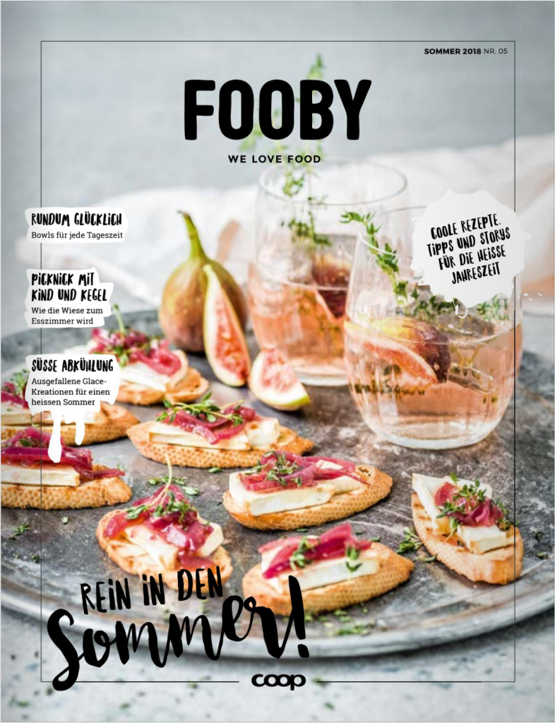 Fooby Cover Content Marketing