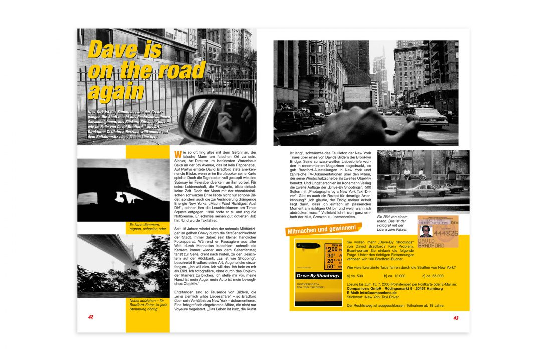 Big City Editorial Design