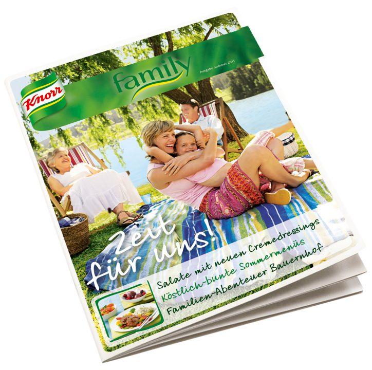 Knorr family Magazin
