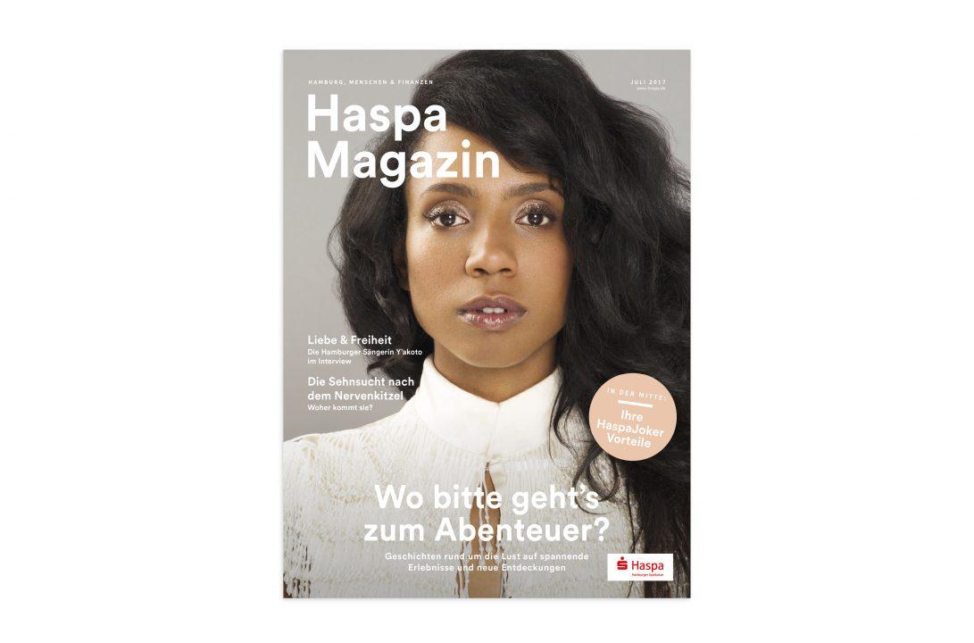 Yakoto Haspa Magazin Cover