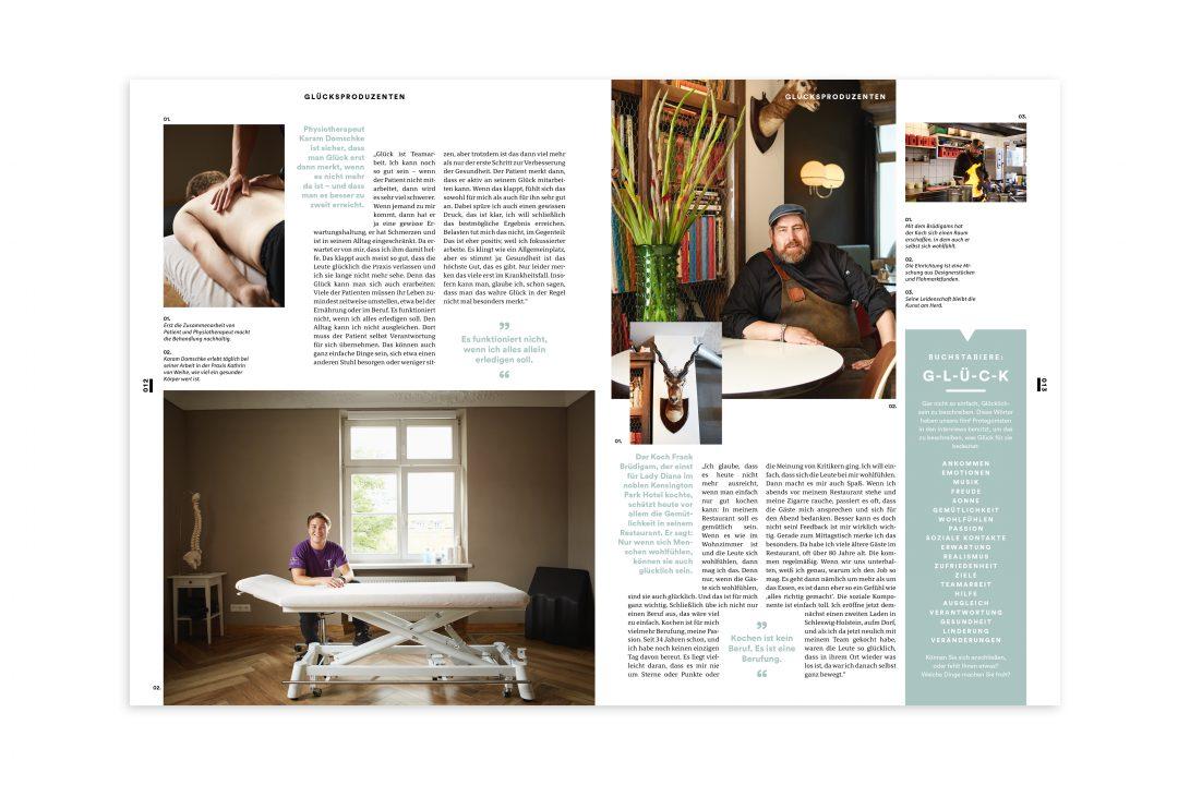 Titelstory Haspa Magazin Innenseiten