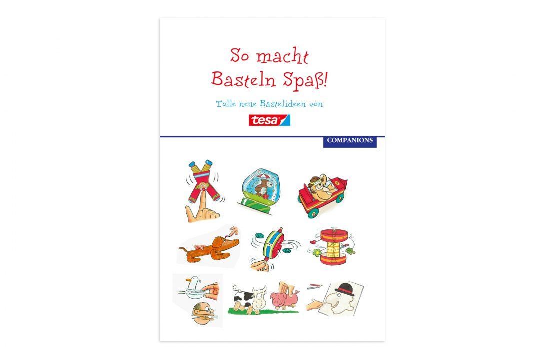 Tesa Bastelbuch Cover