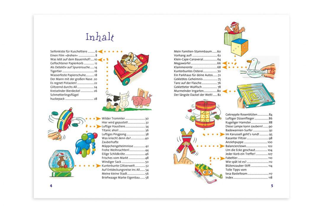 Tesa Bastelbuch Content Companions