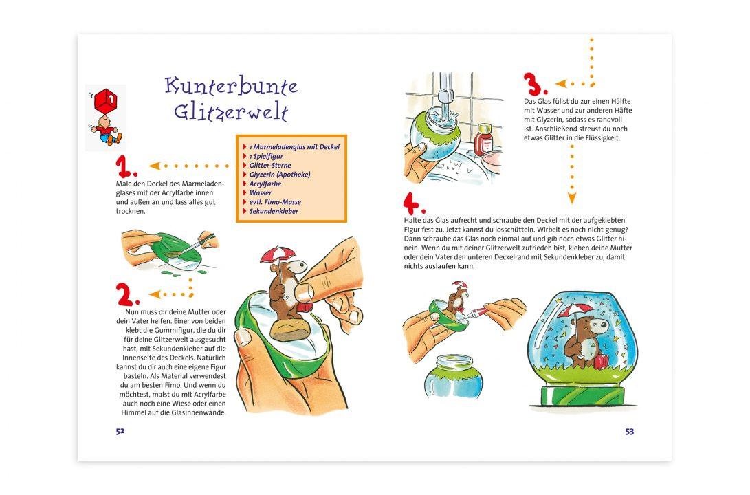 Tesa Bastelbuch Design Editorial