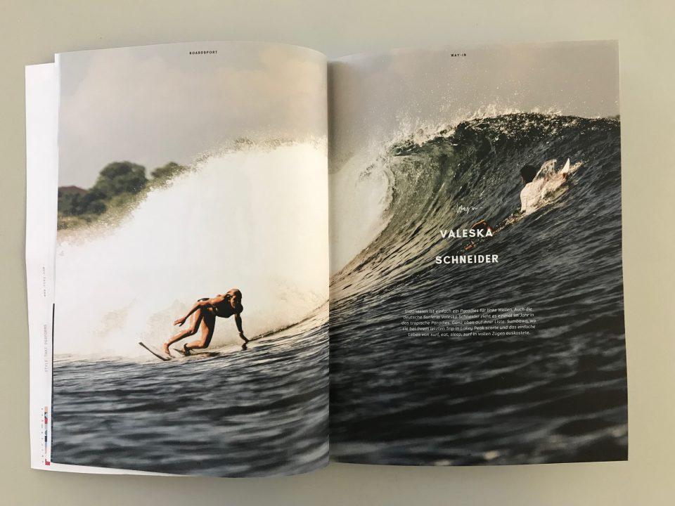 Surf Girl Ocean