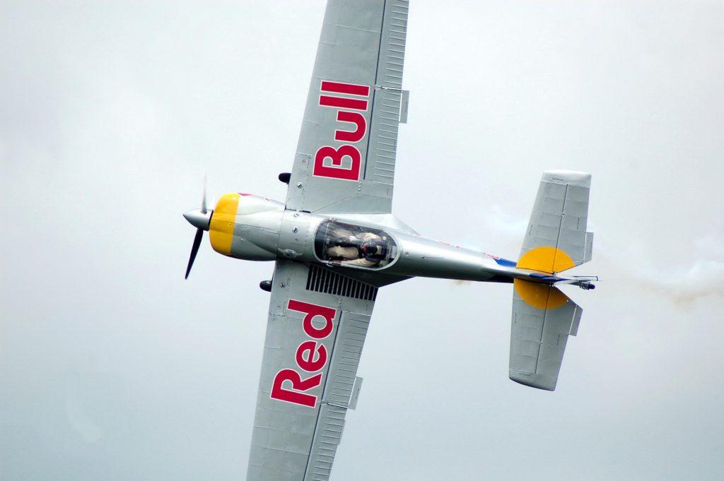redbull plane comanions airplane
