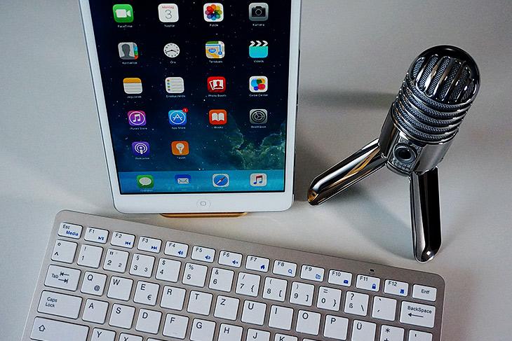 Blogcast Utensilien