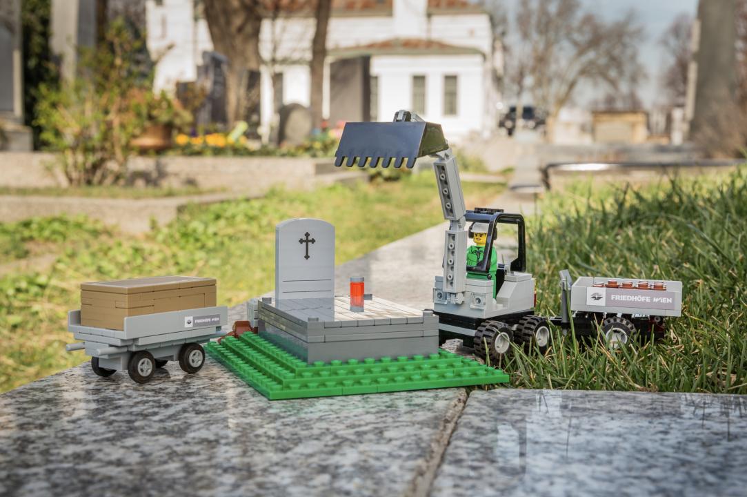 Lego Friedhof Wiener Zentralfriedhof
