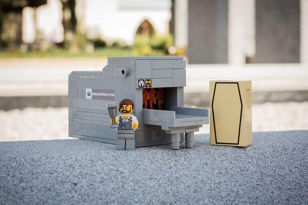 Lego Krematorium Wiener Zentralfriedhof