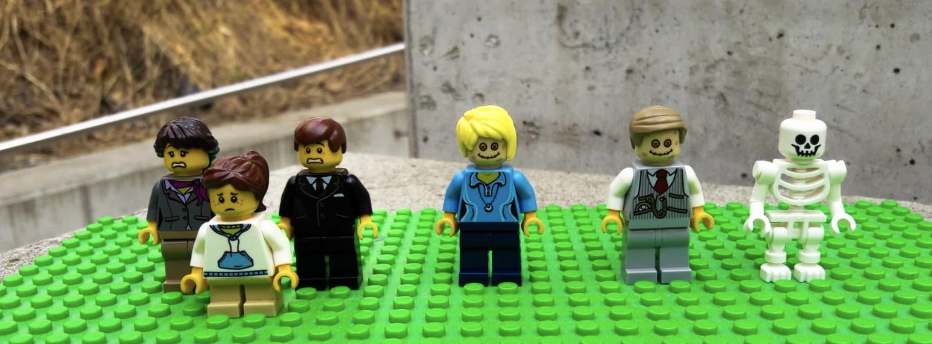 Lego Trauernde Wiener Zentralfriedhof