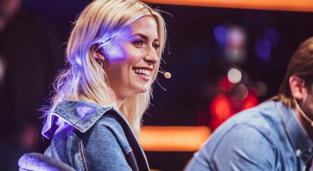Lena Gercke als Speaker beim OMR Festival 2019