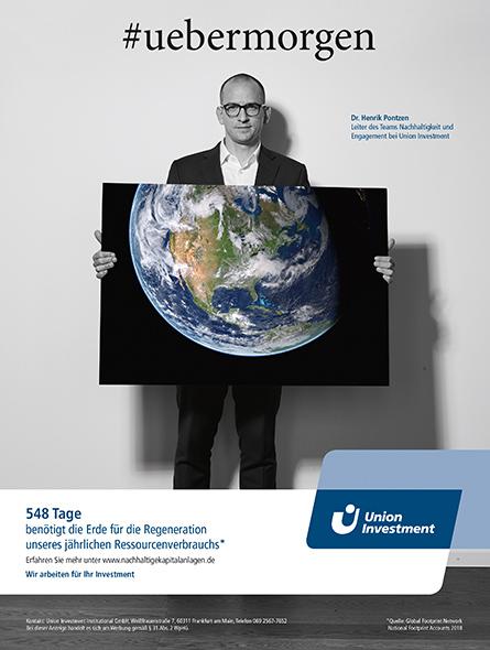 Union-Investment Nachhaltigkeits Kampagne